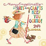 Mary Engelbreit 2014 Mini Wall Calendar: Arts and Crafts Keep You Going