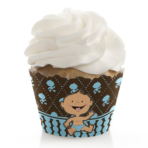 Modern Baby Boy Shower Decorations front-1059169