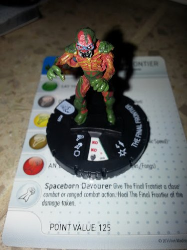 Iron Maiden Heroclix The Final Frontier gravity feed