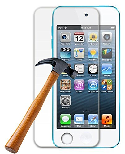 Accessory Master Pack of 1 Films de Protection écran en Verre Trempé Crystal Clear pour Apple ipod touch 5