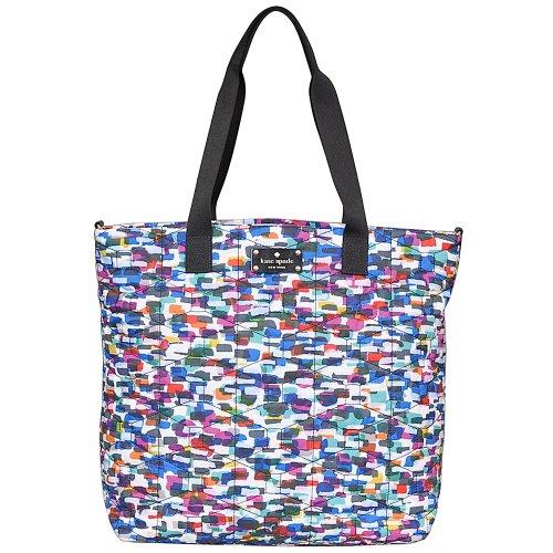 Kate Spade Bon Shopper Baby Diaper Bag Tote Multi front-380671