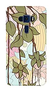 SWAG my CASE PRINTED BACK COVER FOR ASUS ZENFONE 3 520KL Multicolor