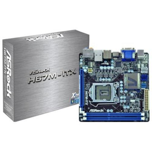 Asrock  H67M-ITX 1155 mini-Itx Motherboard