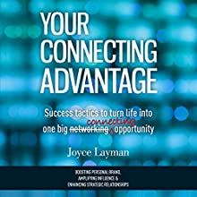 Your Connecting Advantage: Success Tactics to Turn Life into One Big Connecting Opportunity (       UNABRIDGED) by Joyce Layman Narrated by Joyce Layman