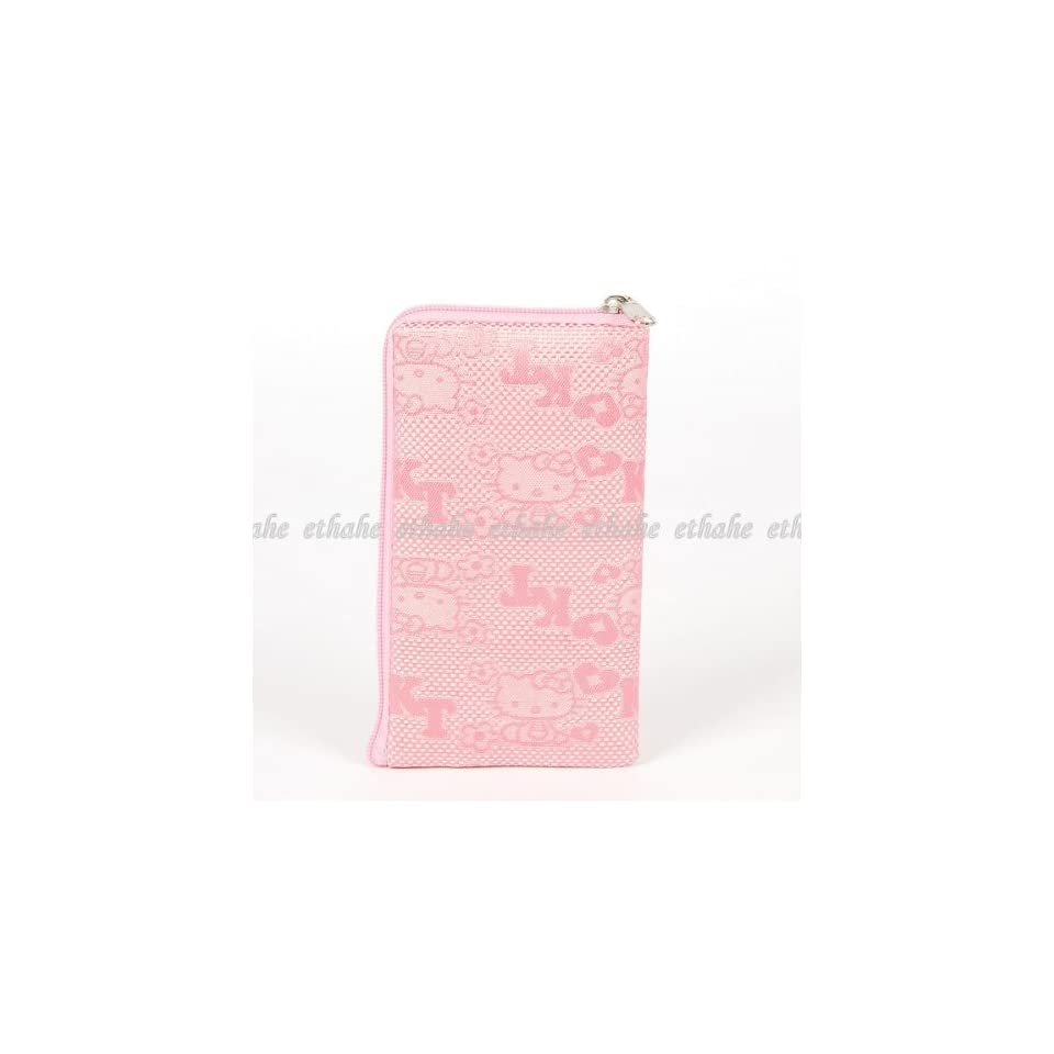 Hello Kitty Plain Mobile Cell Phone Bag Pink