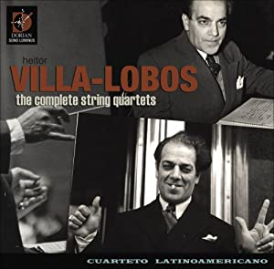 Villa-Lobos: Complete String Quartets [CD+DVD]