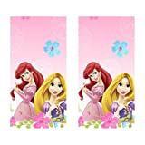 Disney Fanciful Princess Party Plastic Tablecovers - 2 Pieces