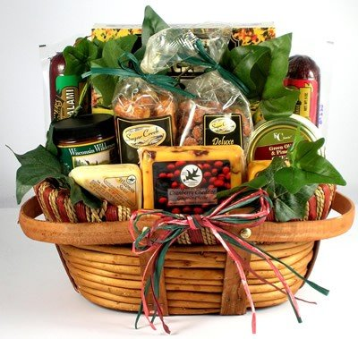 The Midwesterner, Cheese And Sausage Gift Basket
