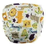 Blueberry Side Snap Simplex All in One Diapers, Jungle Jam, Medium