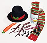 Complete Snowman Kit Everything You Need To Build The Perfect Snowman