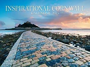 Inspirational Cornwall Medium Wall Calendar 2015