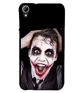 Fuson 3D Designer Back Case Cover For HTC Desire 828