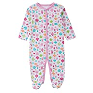 Babe Maps Unisex Babys Footed Sleeper…