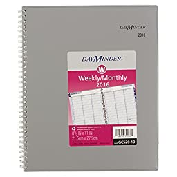 DayMinder Professional Weekly / Monthly Appointment Book 2016, 8.5 x 11 Inches (GC520-10)