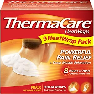ThermaCare Neck and Shoulder HeatWraps - 9 pk.