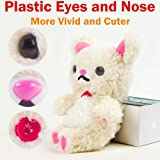 Authentic iPlush Plush Toy Cell Phone Case for iPhone 4 / 4S - (White Bear)
