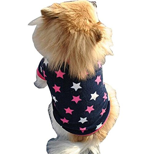 [DETALLAN Pet Dog Cat Villus Warm Clothes Puppy Doggy Apparel Clothing (M)] (Pirate Cat Costume Video)