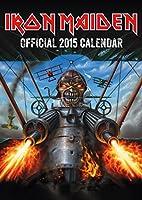 Official Iron Maiden 2015 Wall Calendar
