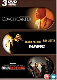 Coach Carter / Narc / Four Brothers [DVD]
