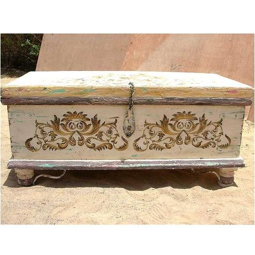 Buy low price cherry wood storage chest trunk box coffee table b000yy8kcw coffee table bargain Indian trunk coffee table