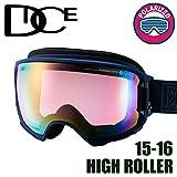 DICE ゴーグル HIGH ROLLER《16HR-14》ダイス ハイローラー[MNV]pM/PIPPDd[球面/偏光レンズ]スキー スノーボード スノーゴーグル goggle