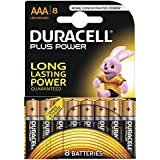 Duracell - Pila Alcalina - AAAx8 Plus Power