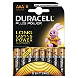 Duracell Plus Power Alkaline Batterien AAA 8er Pack