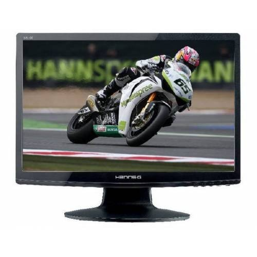 HannsG HA195ABB 18.5inch Widescreen LCD TFT Monitor (1000:1,250 cd/m2,1366 x 768,5ms,VGA) - Black