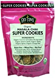 Go Raw Masala Chai Cookies, 3-Ounce (Pack of 4)
