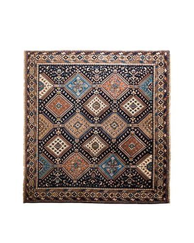 RugSense Tappeto Persian Yalameh Blu/Marrone/Multicolore 204 x 202 cm