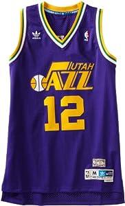 NBA Utah Jazz John Stockton Swingman Jersey by adidas