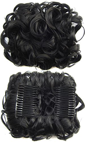 Beauty-Wig-World-BUN-Up-Do-Hair-Piece-Hair-Ribbon-Ponytail-Extensions-Comb-Clip-Scrunchy-Scrunchie-Curly-or-Messy-Different-Colors