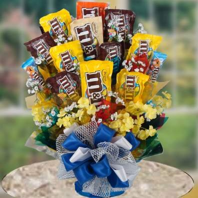 An American Classic M&M Candy Gift Set | Christmas Gift or Halloween Gift Idea