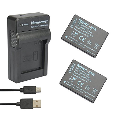 newmowar-dmw-bcg10-battery-2-pack-and-portable-micro-usb-charger-kit-for-panasonic-dmw-bcg10-dmw-bcg