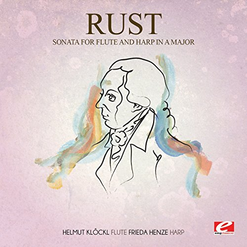 Rust: Allegro from Sonata for Flute and Harp in A Major (Digitally Remastered)
