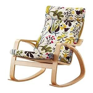 Amazon Com Ikea Poang Rocking Chair Birch Veneer With