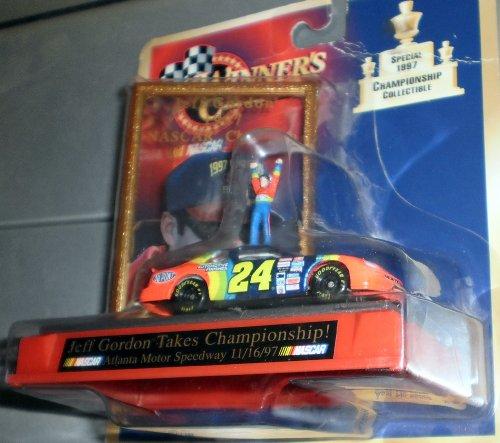 JEFF GORDON TAKES CHAMPIONSHIP 1997 NASCAR DIECAST - 1