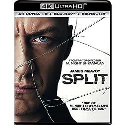 Split [4K Ultra HD + Blu-ray]
