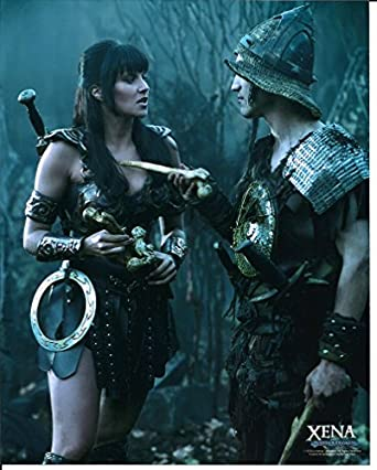 Xena Warrior Princess Lucy Lawless & Ted Raimi as Joxer 8