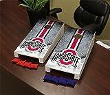 Ohio State OSU Buckeyes Desktop Mini Cornhole Game Set