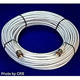 100 ft RG8X COAX CABLE for CB / Ham Radio w/ PL259 Connectors - Workman 8X-100-PL-PL