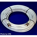 100 ft RG8X COAX CABLE for CB / Ham Radio w/ PL259 Connectors - Workman 8X-100-PL-PL ~ Midland
