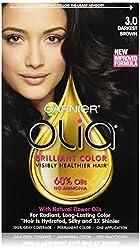Garnier Olia Oil Powered Permanent Haircolor 3.0 Darkest Brown