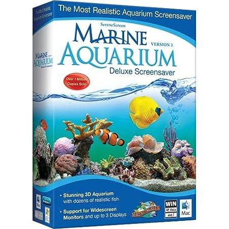 Marine Aquarium Deluxe 3.0 Screensaver [Old Version]