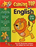 img - for Coming Top: English Ages 5-6: Get A Head Start On Classroom Skills - With Stickers! book / textbook / text book