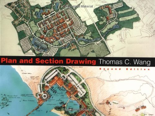Plan and Section Drawing (Landscape Architecture)