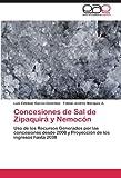 img - for Concesiones de Sal de Zipaquir  y Nemoc n: Uso de los Recursos Generados por las concesiones desde 2008 y Proyecci n de los ingresos hasta 2038 (Spanish Edition) book / textbook / text book