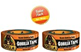 12yd Black Gorilla Tape, 2-Pack