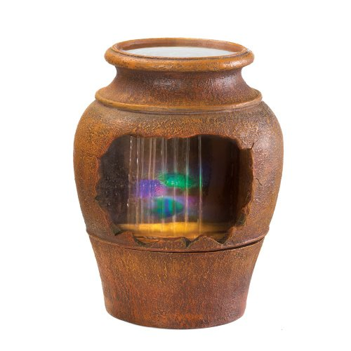 LIGHT-UP GRECIAN URN FOUNTAIN