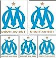 Sticker Autocollant 28x39cm planche marseille ref 01
